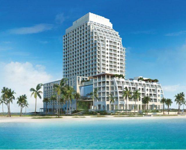 Conrad Hilton Oceanfront Condos!
