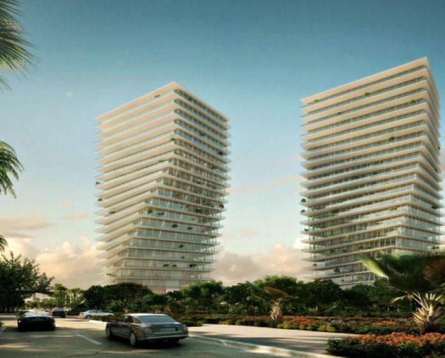 Coconut Grove's Twisting Glass Towers!
