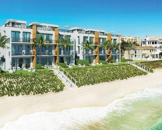 Oceanfront Town Homes Near Palm Beach!