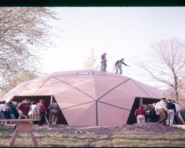 Buckminster Fuller's Historic Dome!