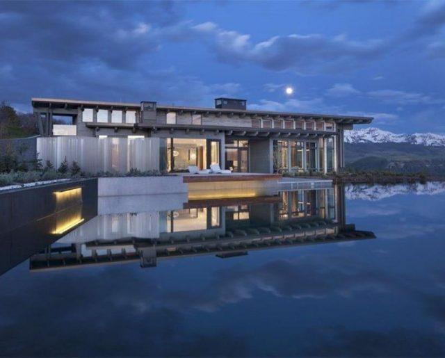 Aspen's $39 Million Lake Home!