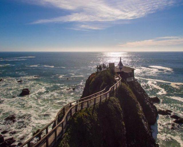Pacific Ocean Cliff House!