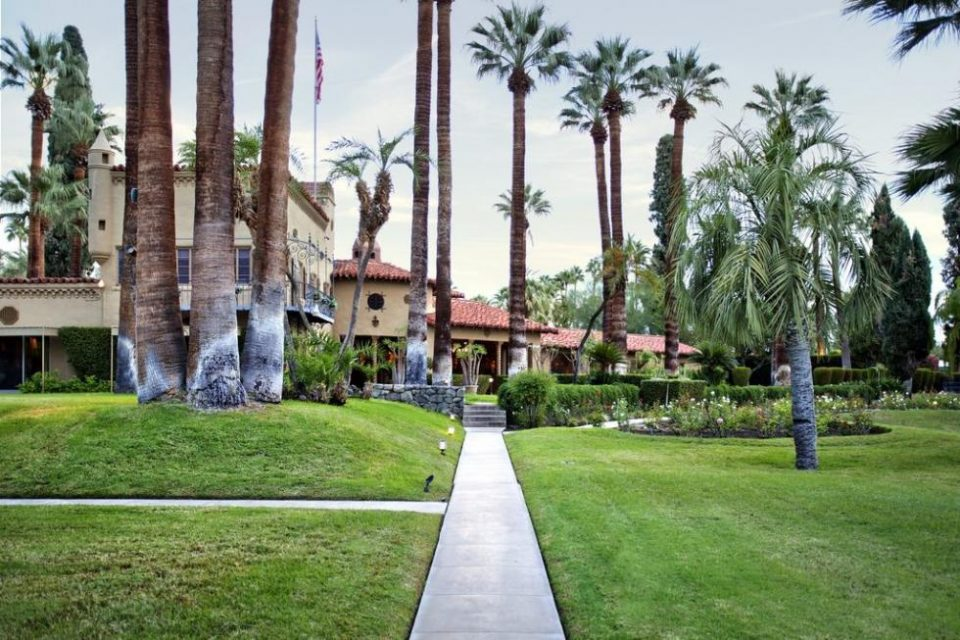 Cary Grant's Borrowed Pool House!