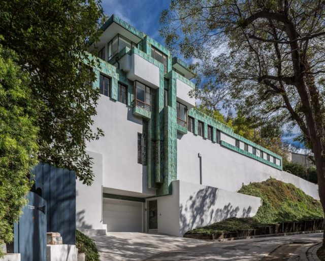 Lloyd Wright Home Redesigned By Diane Keaton!