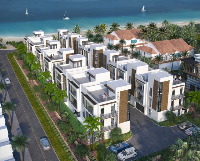 Palm Beaches Oceanfront Townhomes!