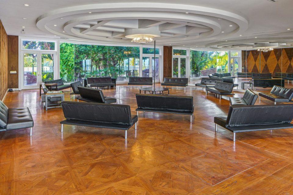 large meeting space inside princes mansion