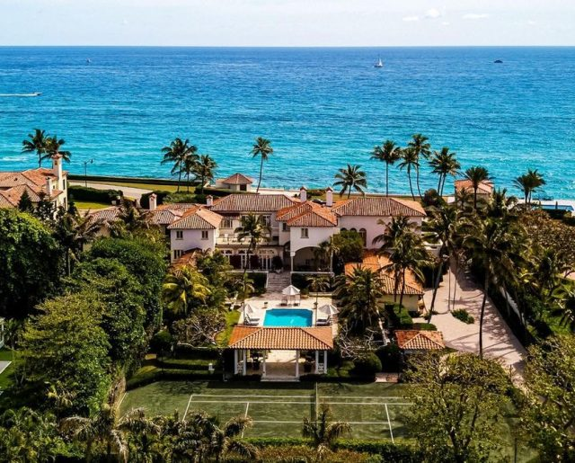 John & Yoko's Palm Beach Mansion!