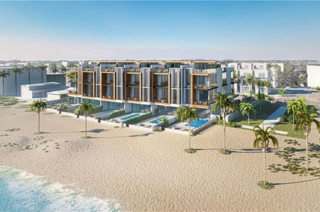 Sold Out! Pre-Construction Beach Townhomes!