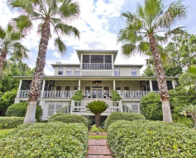 Sandra Bullock's Sweet Georgia Island Home!